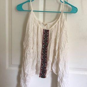 White pacsun blouse